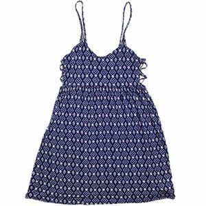 Forever 21 Braided Strap Strappy Side Tank Dress